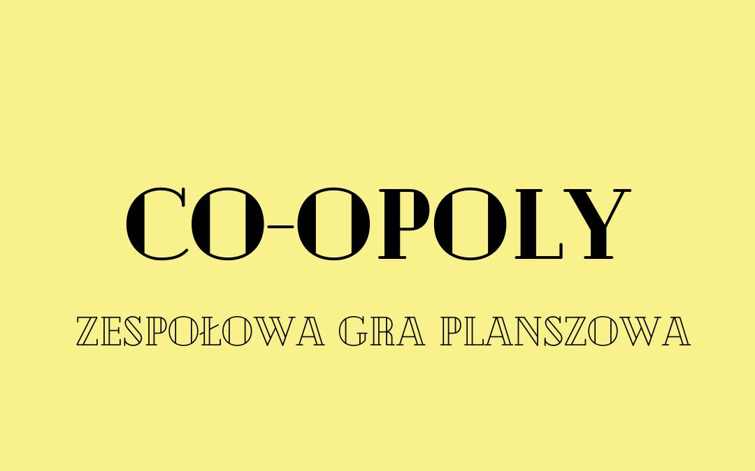 Co-opoly: zespołowa gra planszowa